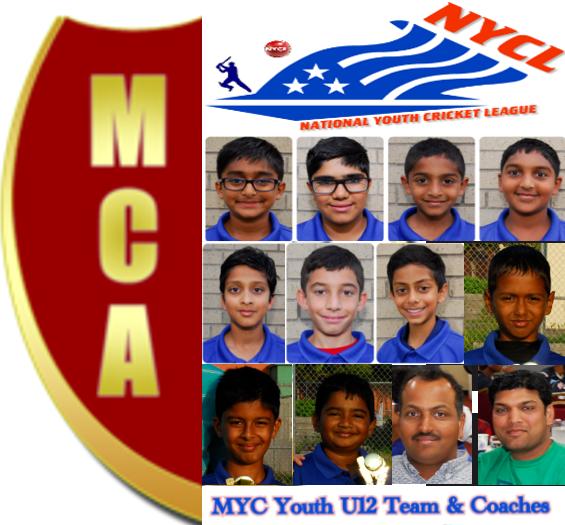 MCA (MYC) U12 team's win vs. DCL in California!