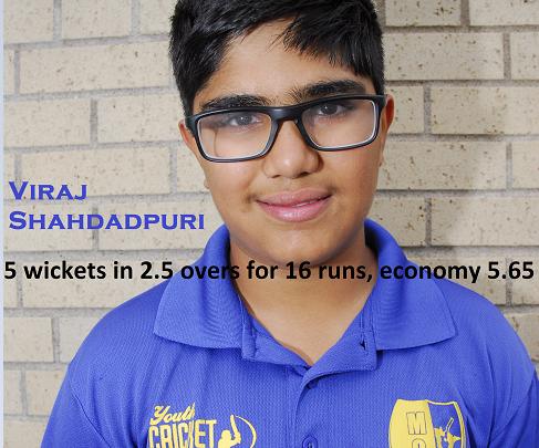 Viraj's 5 Wicket Haul!