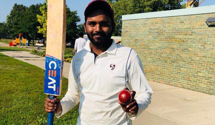 Ashish Gupta's all-round performance – 4 wickets and 46 runs.