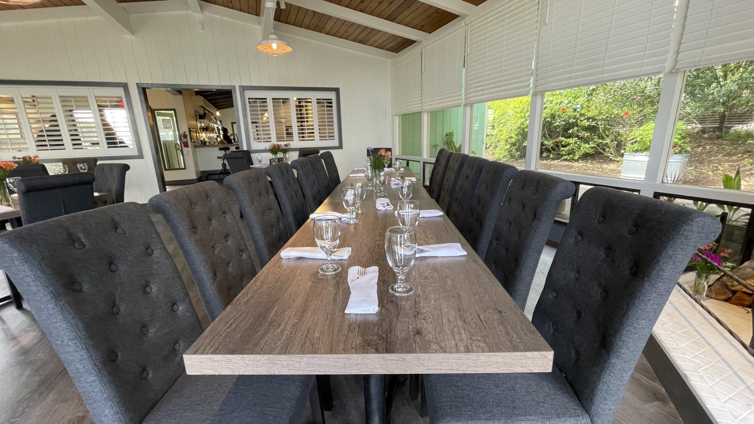 group dining special events waimea big island
