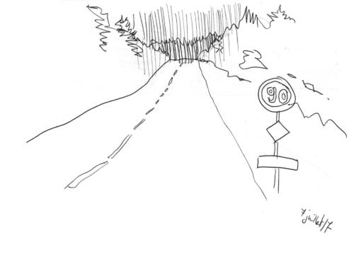 Road tripThrough the Windschield 21