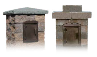 Cambridge Pre-Packaged Column Mailbox Kits