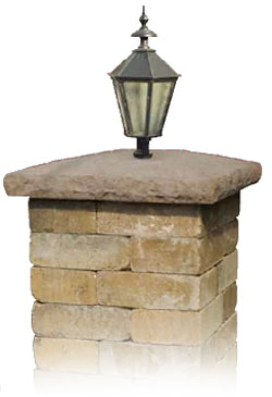Cambridge Cast Stone Column Caps