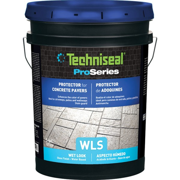 Sealant For Concrete Pavers (WLS)   Wet Look   Gloss Finish