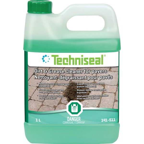 Dirt & Grease Cleaner For Concrete Pavers