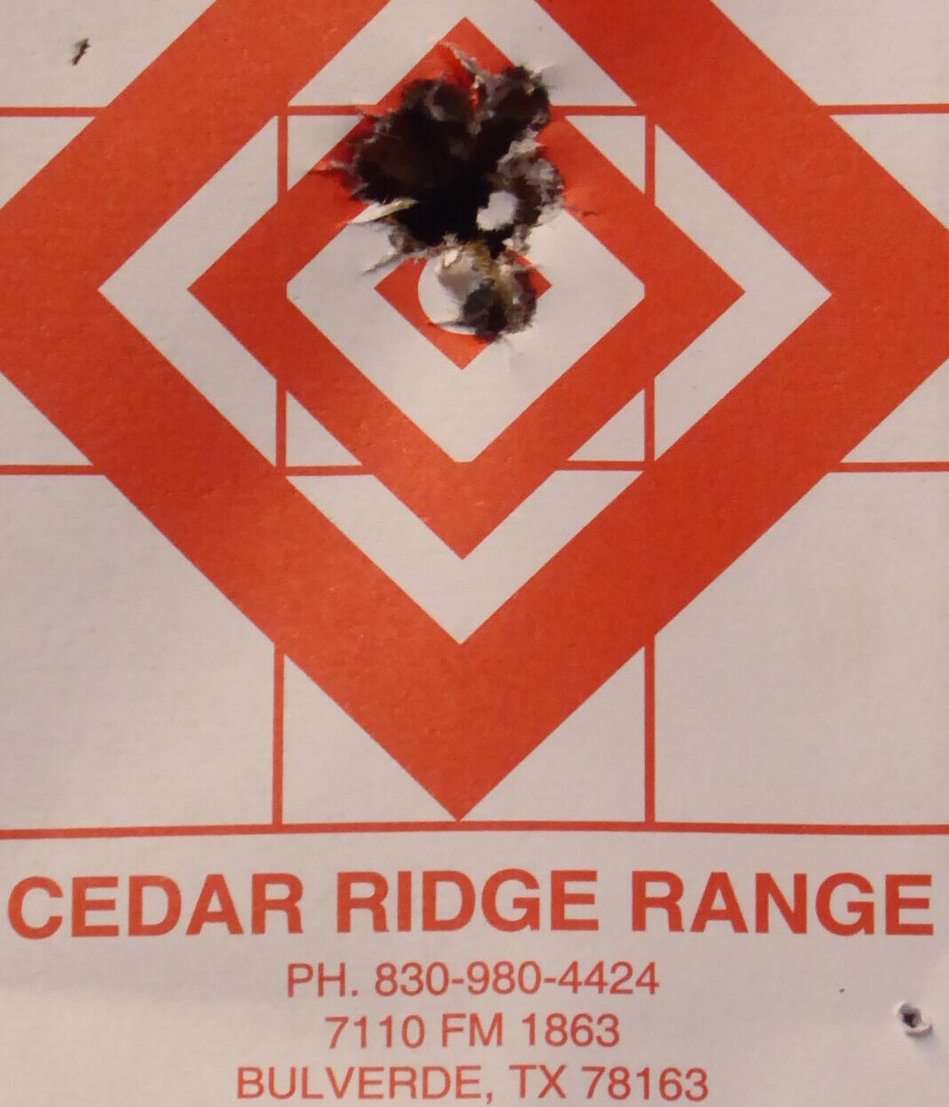 Cedar Ridge Shooting Range
