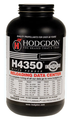 hodgdon powder h4350 is one of many powders we carry