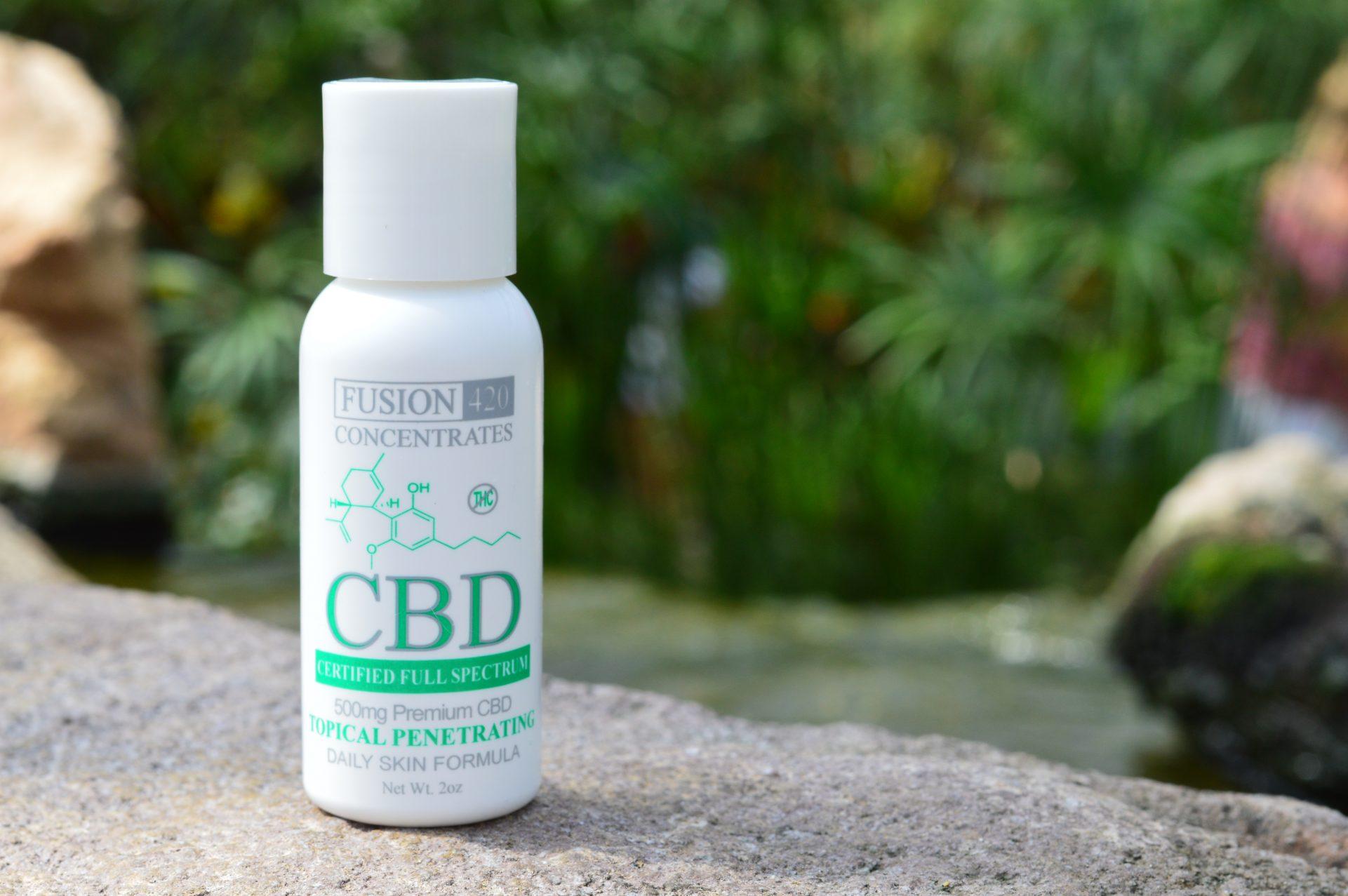 CBD Daily Skincare Muscle Pain Creme Formula