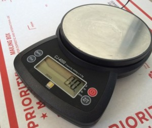 An ideal digital scale for small biz postage use