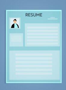 resume, cv, resume template