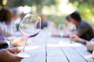 wineglass, wine, glass