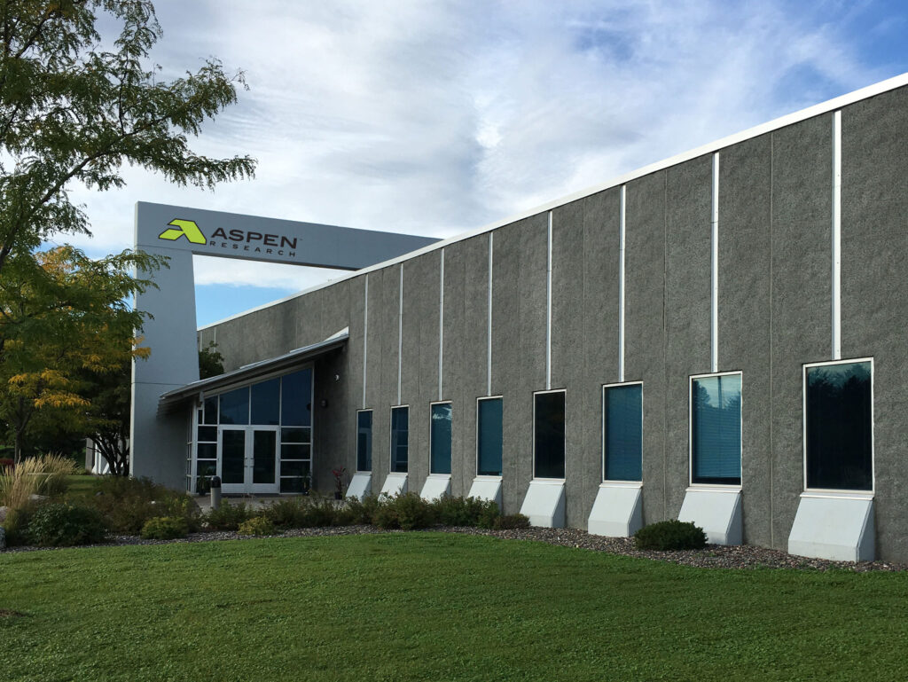 8401 Jefferson Highway, Maple Grove MN - Headquarters of Aspen Research Corporation