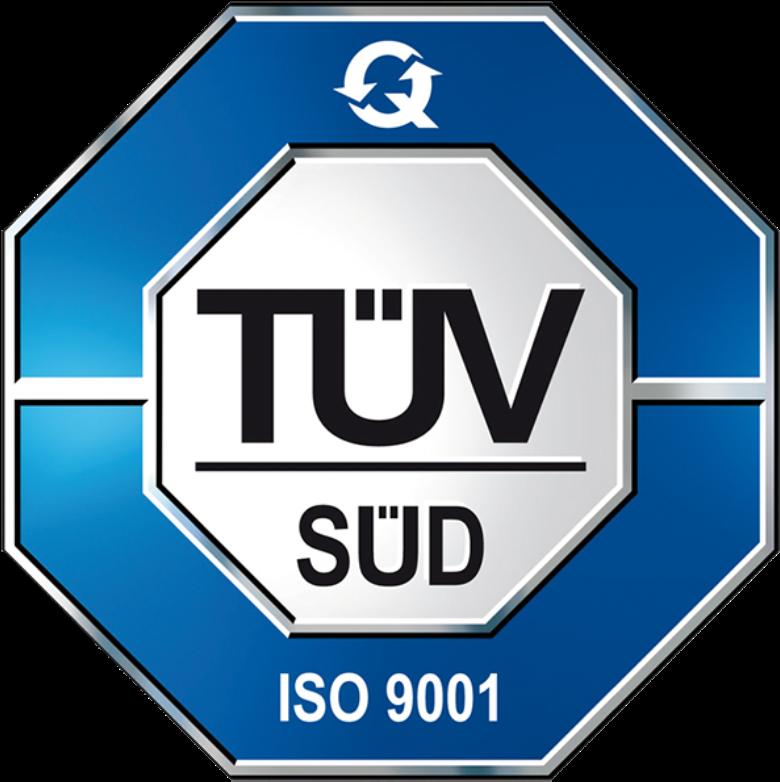TUV SUD ISO 9001 Certification Logo