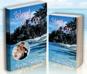 """Win a free plain paperback personalized romance novel like """"Island of Love"""" which is set in Tahiti."""
