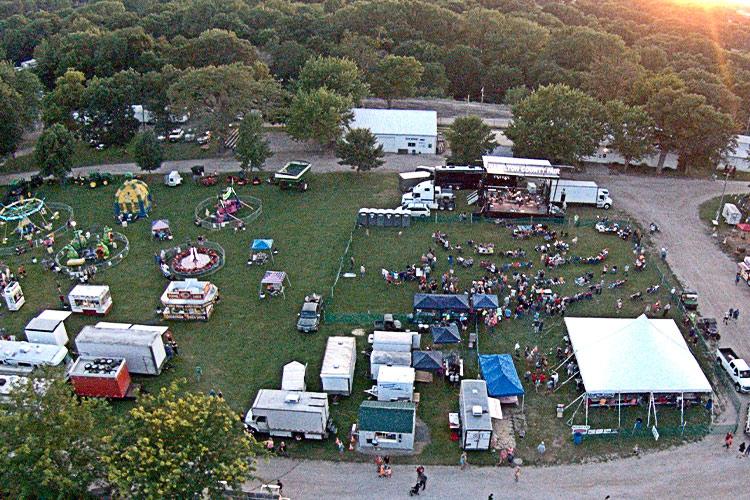 concert at fairgrounds