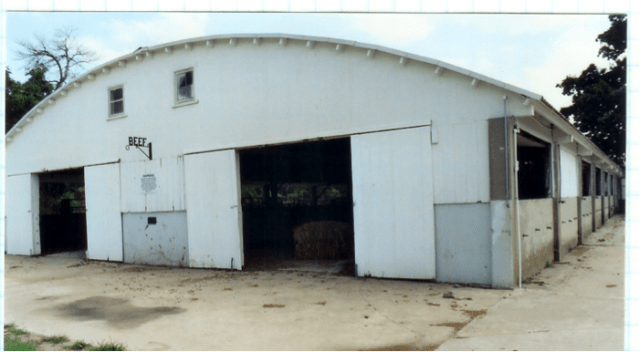 beef barn building