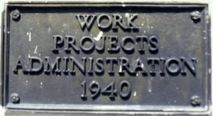 WPA sign