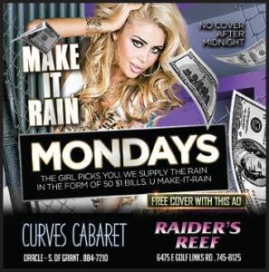 make it rain in tucson strip club