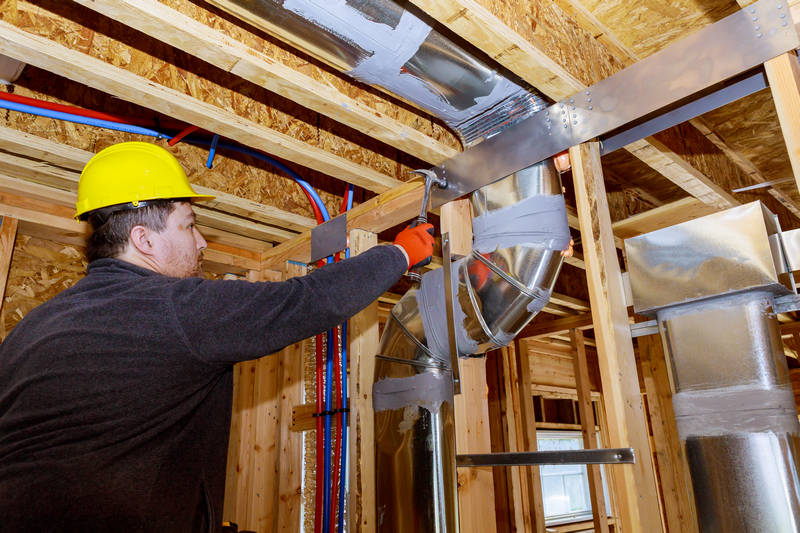What is the Process of Ductwork Installation?