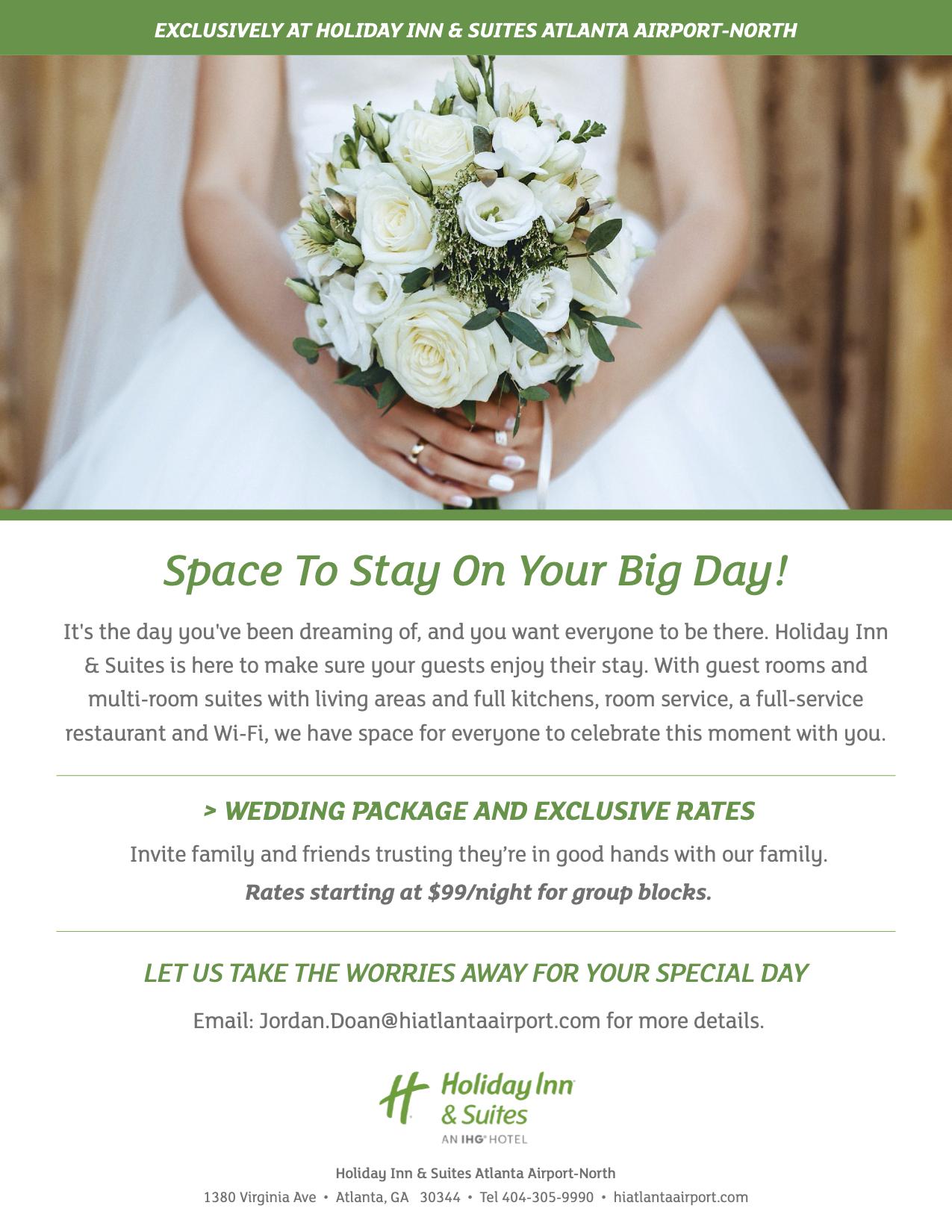 Wedding Package Flyer