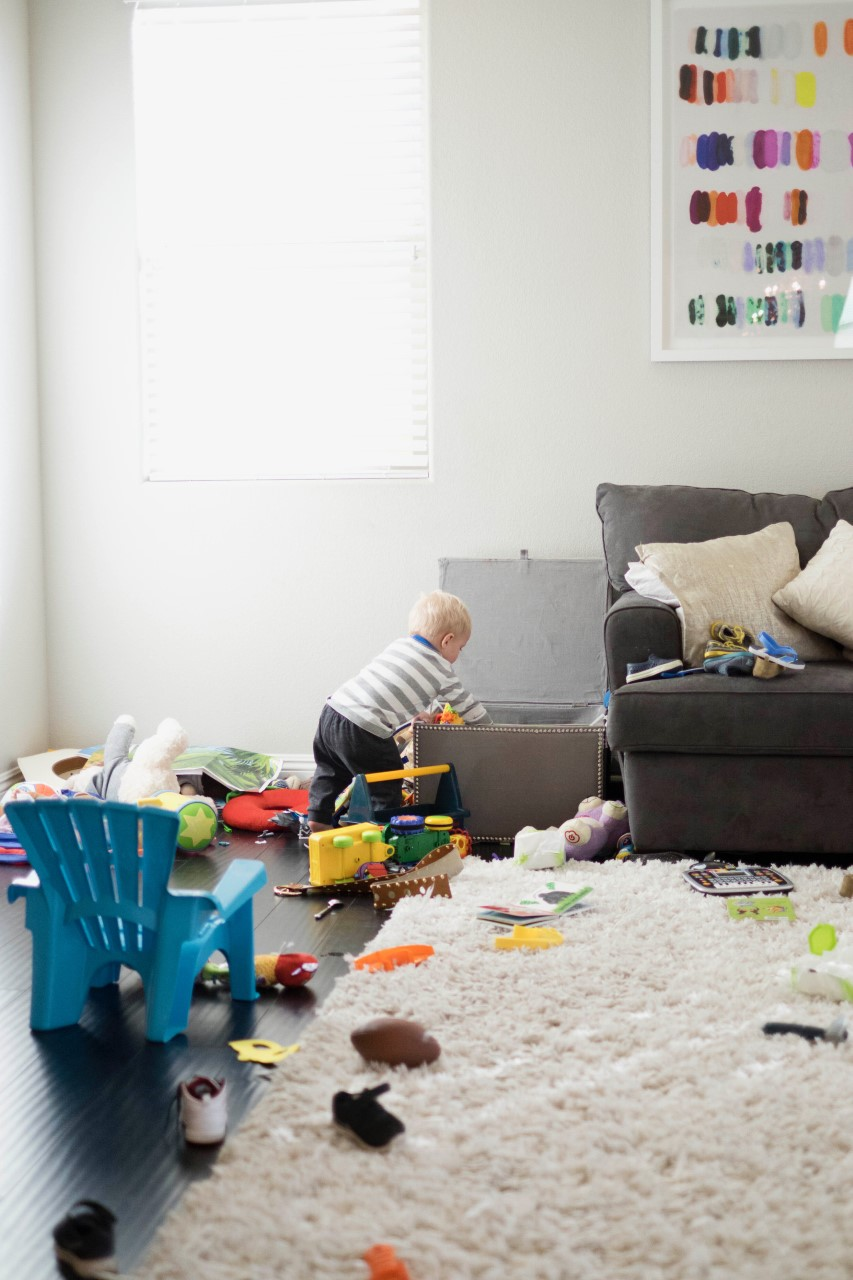 My One Success of New Motherhood: Having a Messy Home
