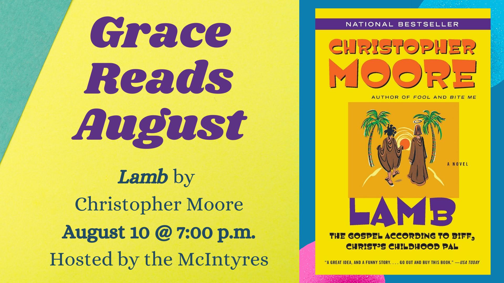 Grace Reads August