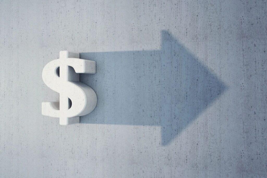 Dollar Sign & Arrow