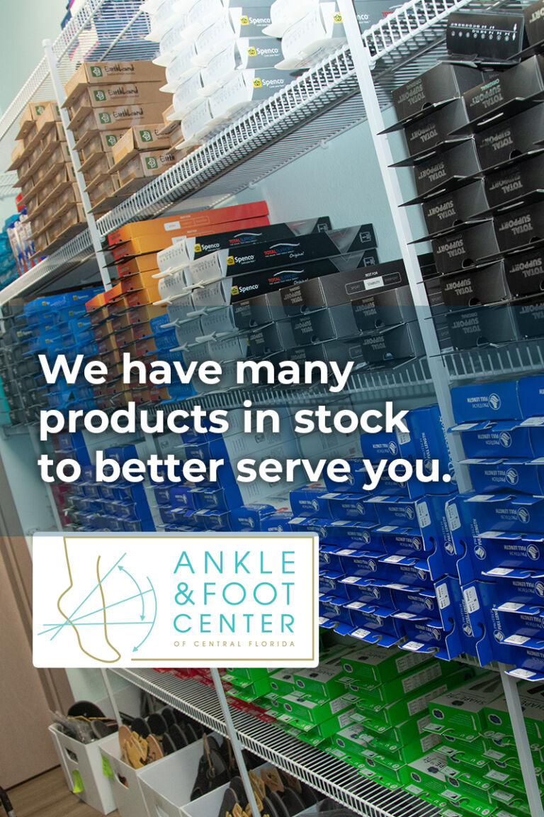 Products in stock