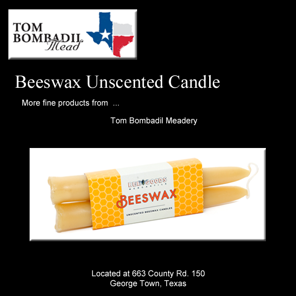 Beeswax Candle (2 Pack)
