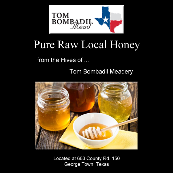 Texas Pure Raw Local Honey