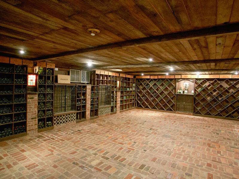 Large Wine Cellar