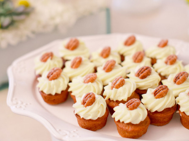 Pecan Cupcakes for Guests of The Estate | The Estate