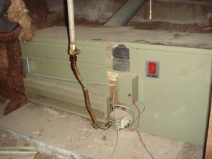 Just one of many furnaces that were recalled due to fire hazards