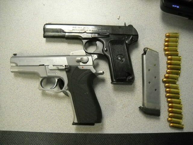 CFSEU- BC Seizes Guns and Drugs