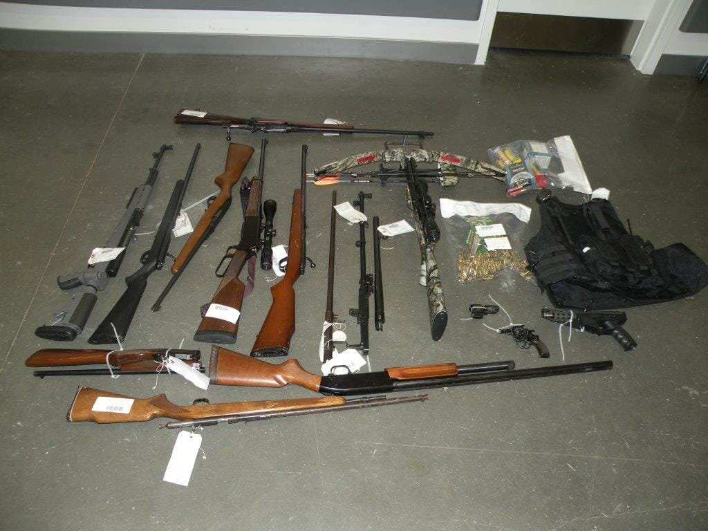 Man arrested and multiple guns seized during joint CFSEU-BC and RCMP investigation