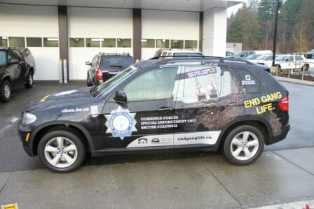 CFSEU-BC unveils forfeited drug SUV to fight gangs