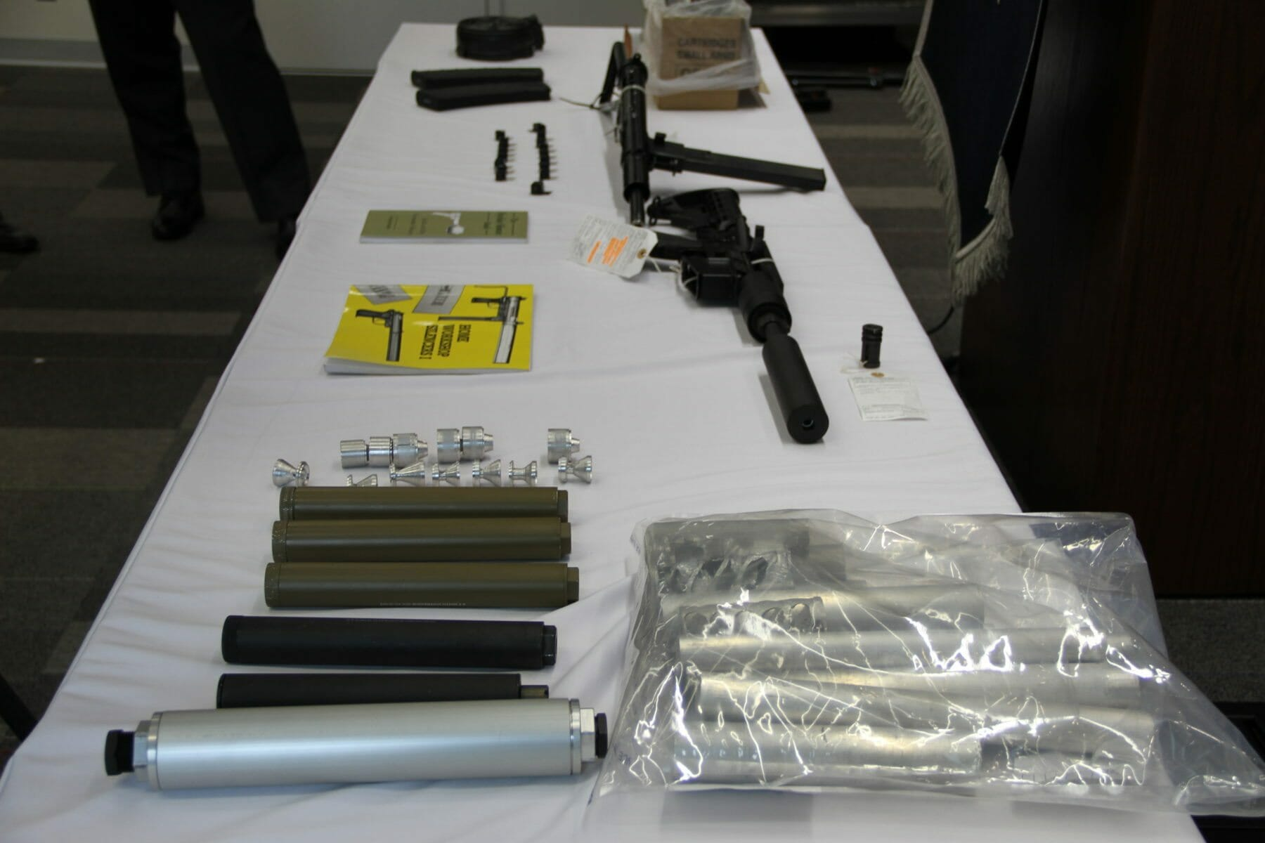 Charges Laid Against Alleged Firearms Trafficker