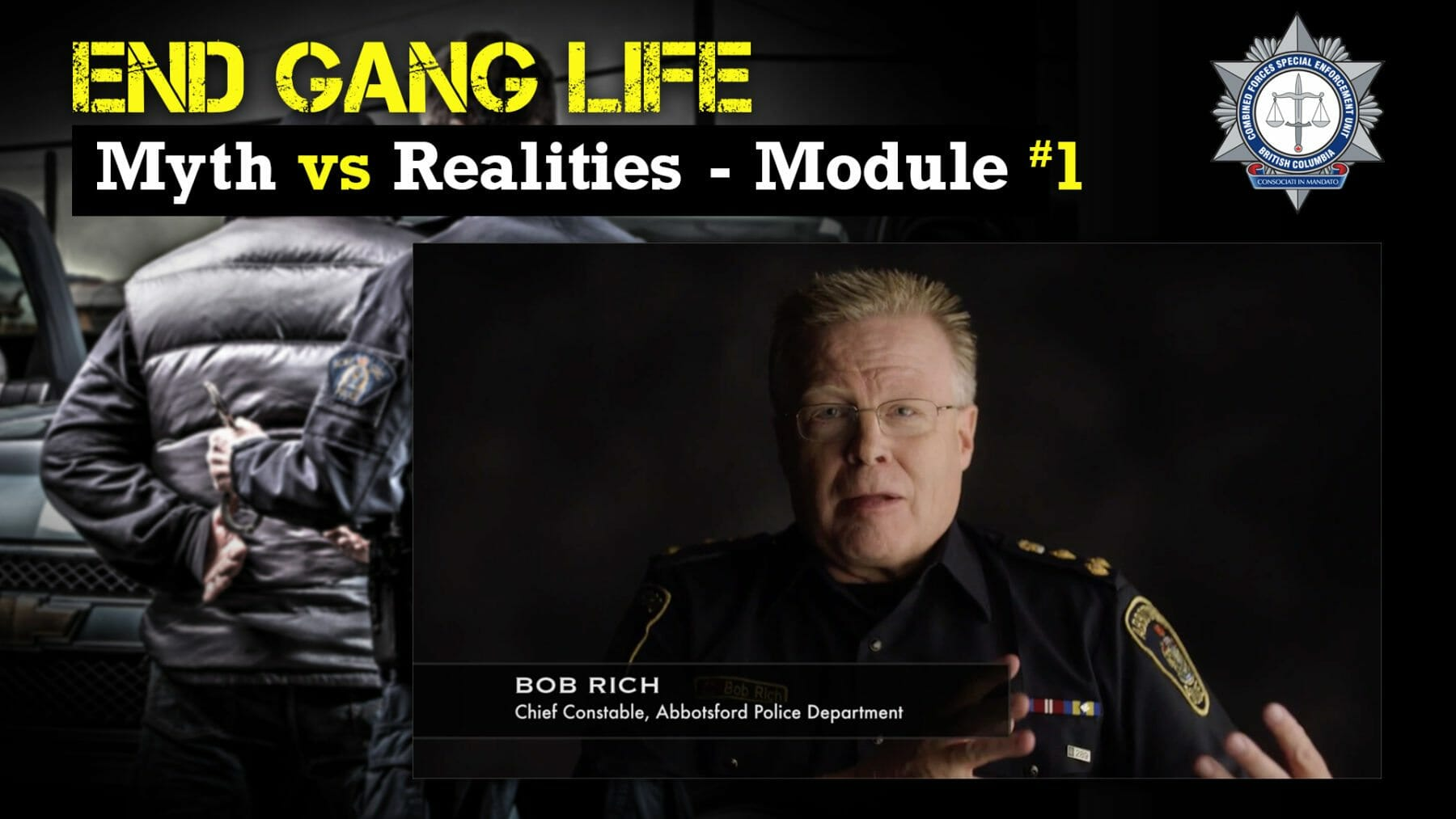 MYTHS AND REALITIES OF GANG LIFE | The Combined Forces