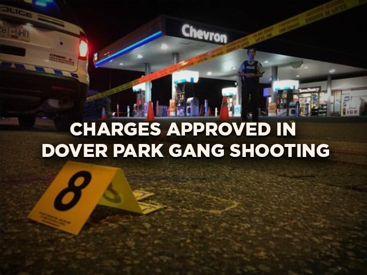 Charges Approved in Dover Park Gang Shooting