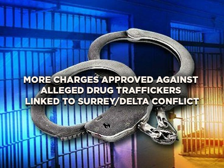 More Charges Approved Against Alleged Drug Traffickers Linked to Surrey/Delta Conflict