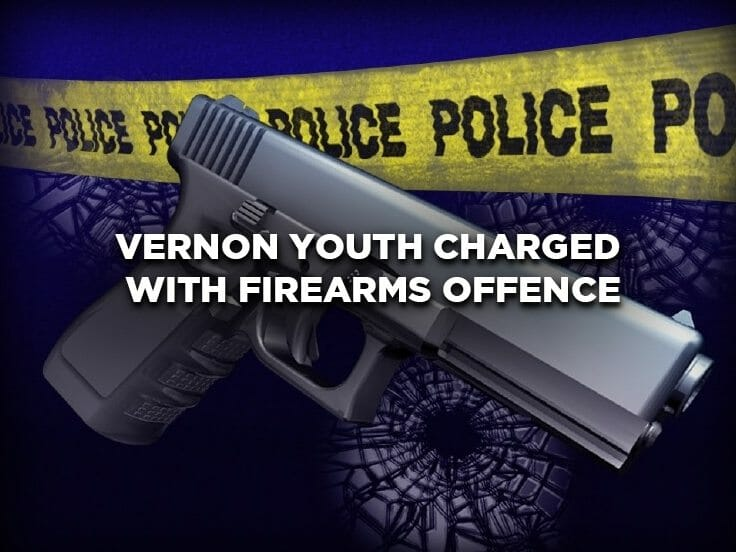 Vernon Youth Charged with Firearms Offence