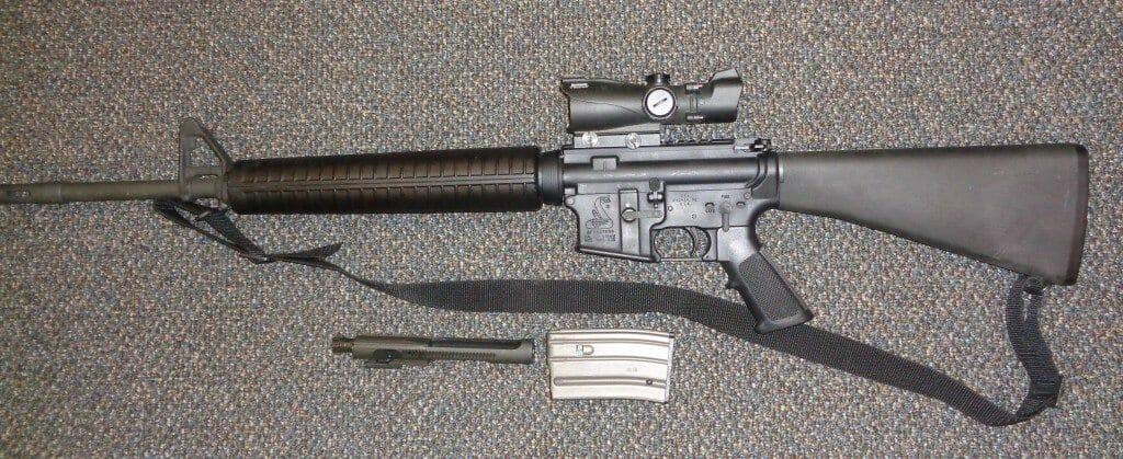 Seized AR-15