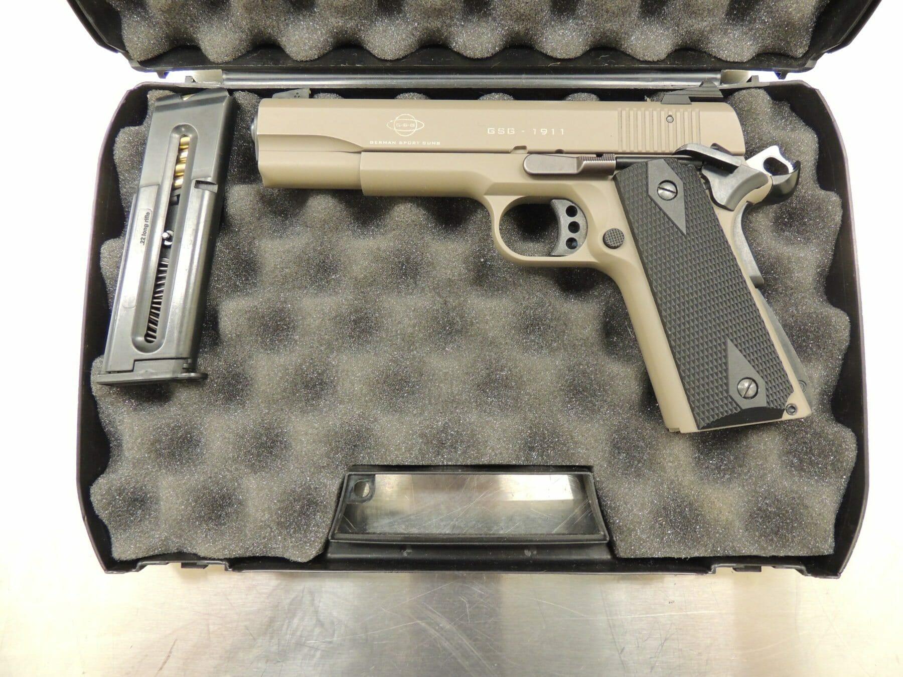 .22LR calibre handgun