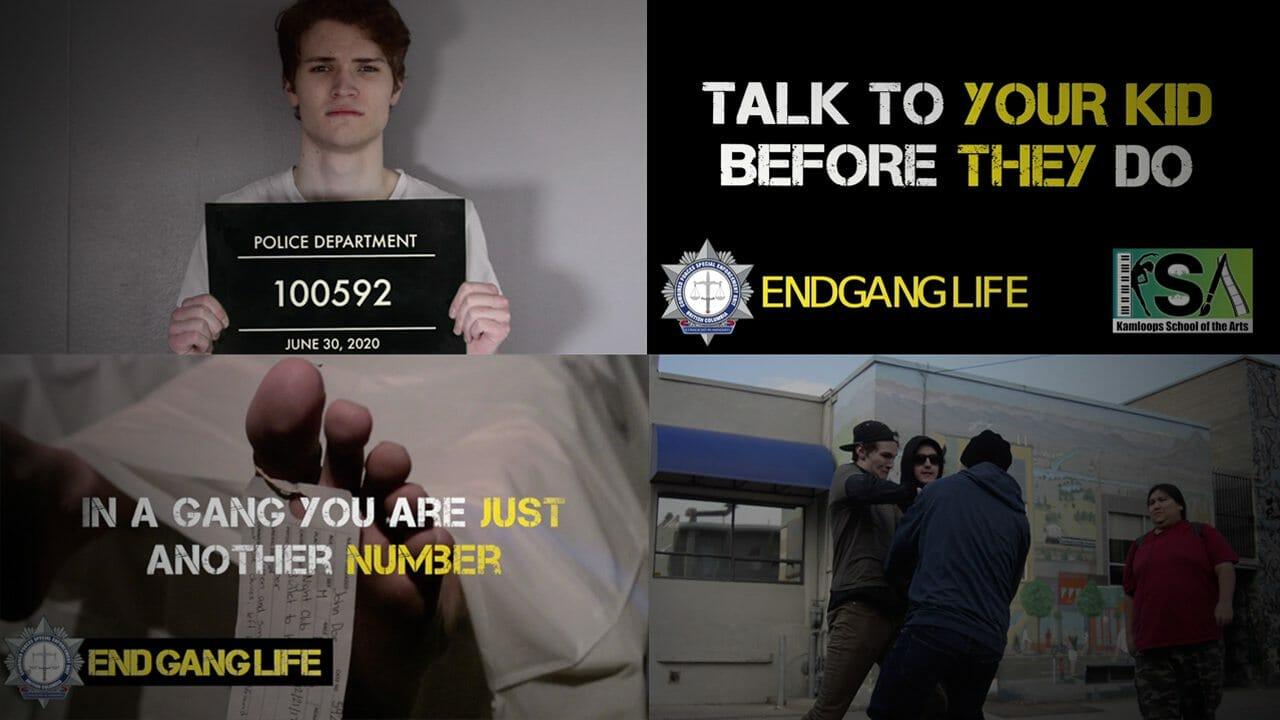 CFSEU-BC and KSA partner on the creation of new student-led End Gang Life PSA's