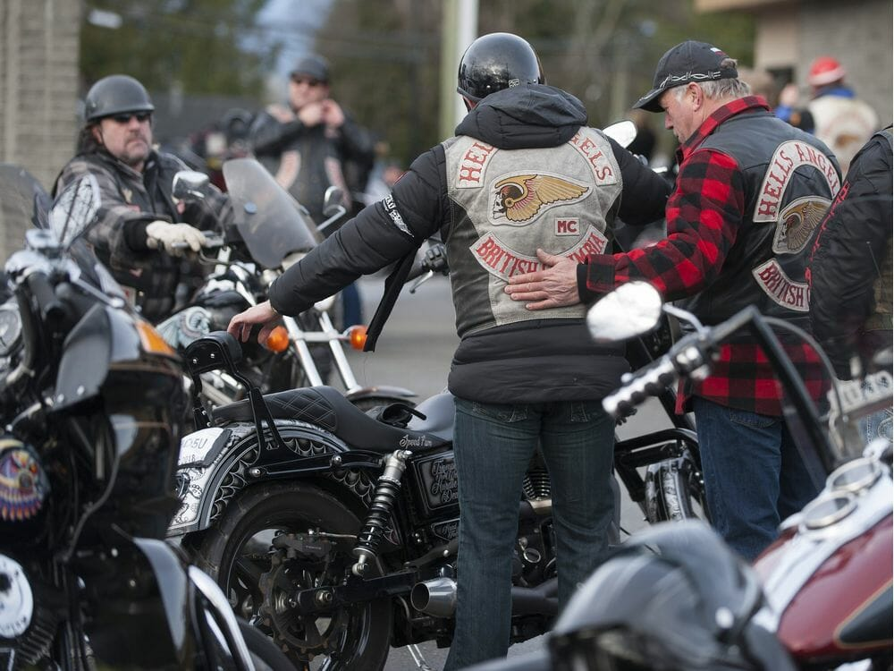 Bikers come from near and far for funeral of murdered B.C. Hells Angel