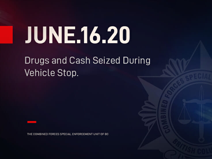 Drugs and Cash Seized During Vehicle Stop
