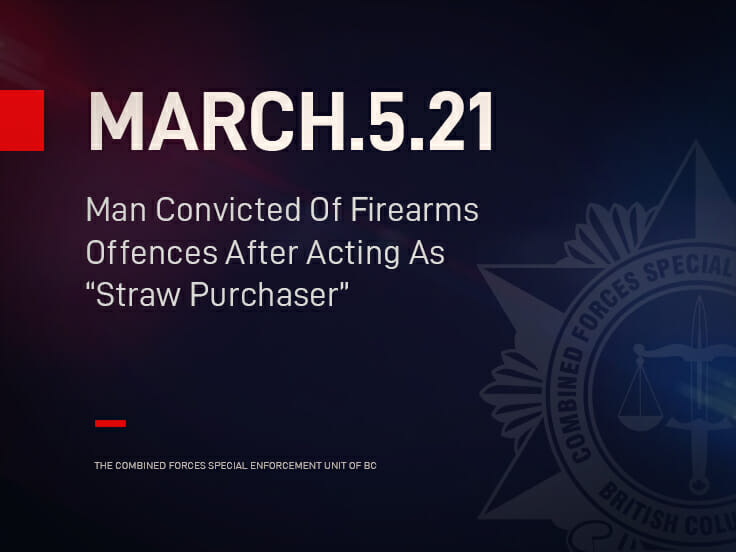 """Man Convicted Of Firearms Offences After Acting As """"Straw Purchaser"""""""