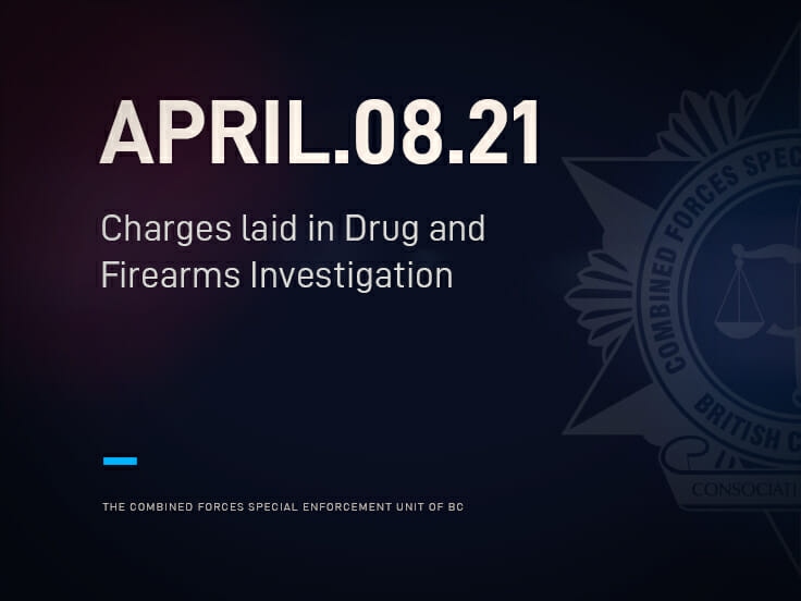 Charges laid in Drug and Firearms Investigation