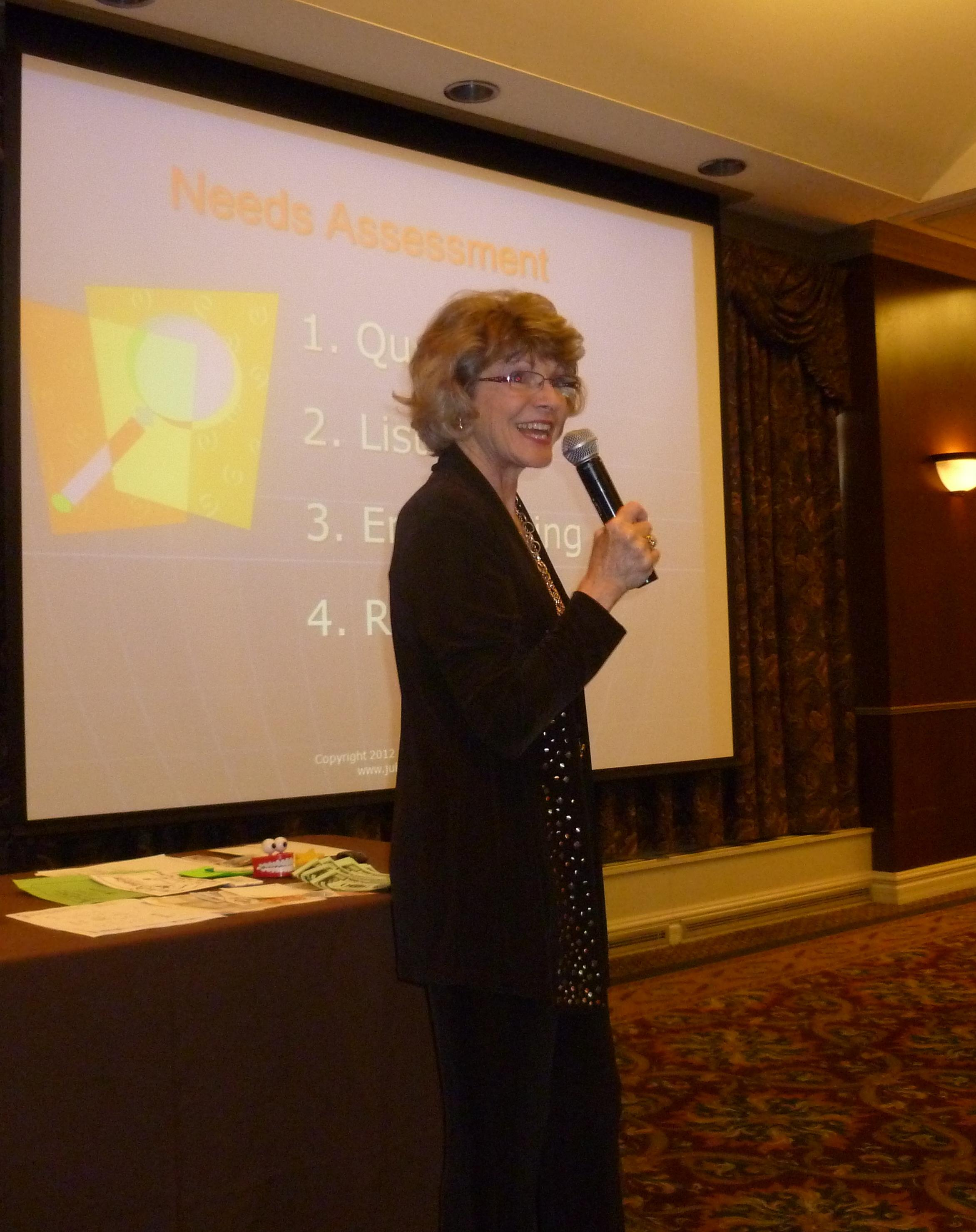 Julie Wassom Child Care Enrollment Sales