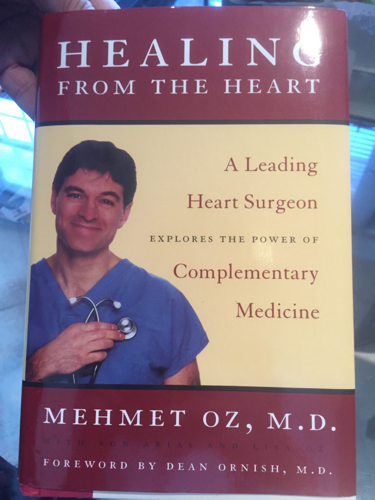 Dr. Oz's Book